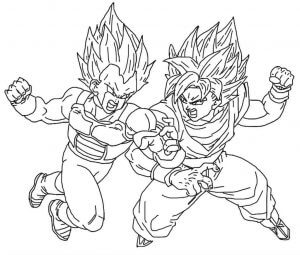 Coloriage Dragon Ball à imprimer